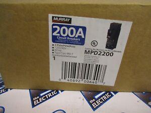 details about murray mpd2200, 200 amp 240 volt circuit breaker new  power mod™ and uni pak
