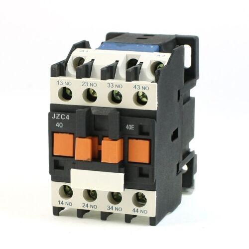 50Hz Coil Intermediate Relay JZC4-40 New 110V AC 4NO 0NC