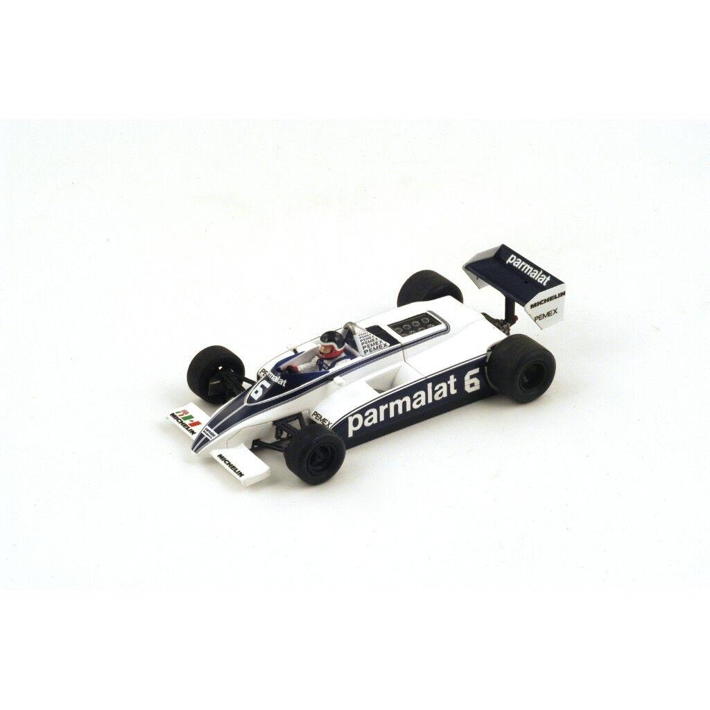 1 43 Parmalat Brabham BT49C  Monaco GP 1981  H.Rebaque