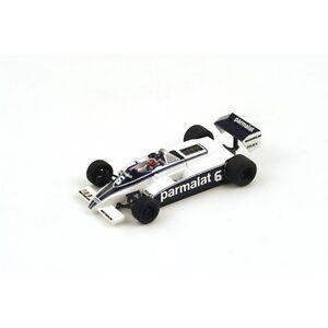 1/43 Parmalat Brabham Bt49c Monaco GP 1981 H.rebaque 9580006943484