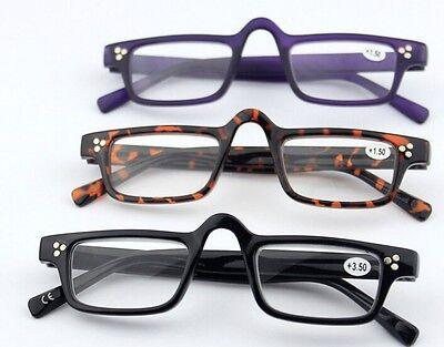 Vintage Nerd Clear Reading Glasses Eyeglasses Retro Readers +1.0 +1.5 +2.5 +3.0