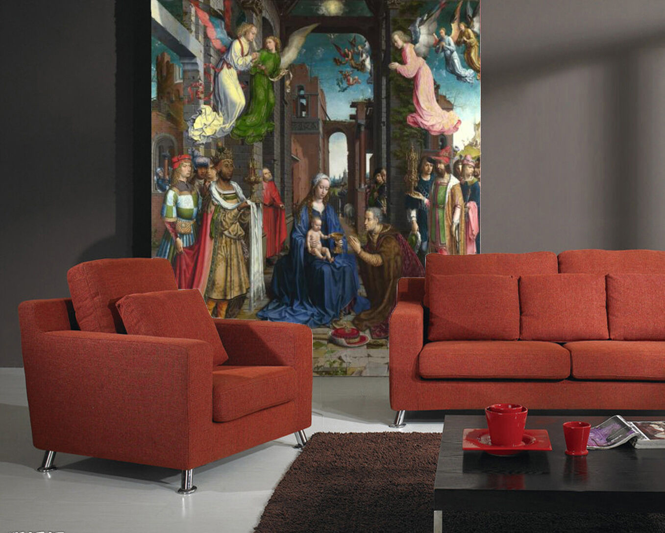 3D Europe angel painting Wall Paper wall Print Decal Wall Deco Indoor wall Mural