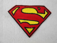 Superman Emblem Embroidered Iron/sew On Name Patch
