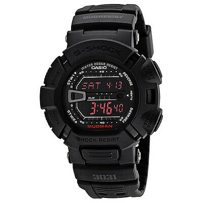 Casio G-Shock Mudman Multi-Function Digital Black Resin Mens Watch G900MS-1CR