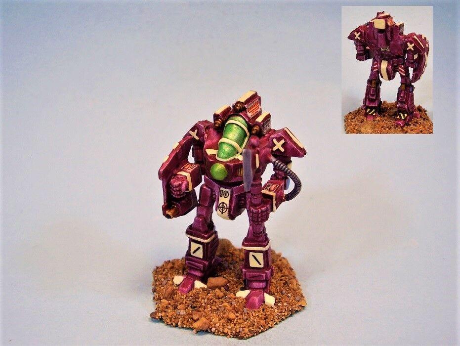 Battletech painted miniature Valiant battlemech MWC