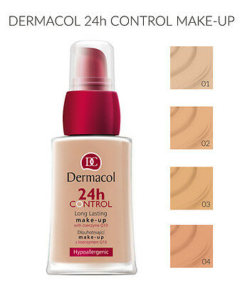 DERMACOL 24H CONTROL MAKE UP FOUNDATION LONG LASTING Q10 30ml