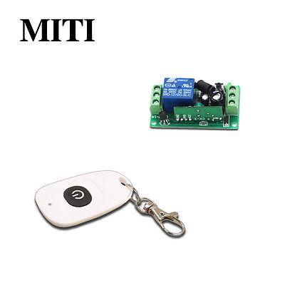 DC 9V 12V 24V 1CH Wireless Remote Control Switch Receiver Transmitter 315/433MHz