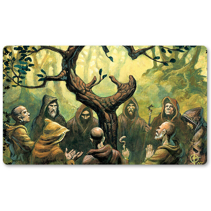 Oath of Druids - Board Game MTG Playmat Games Mousepad