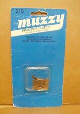 Muzzy Practice Blades for 2 & 4 Blade Broadheads 115 gr and up - #315 - New Pack