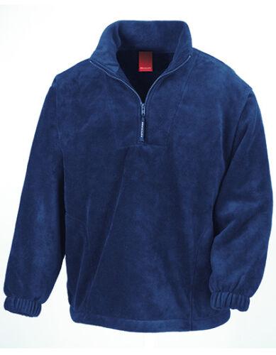 Result Herren Fleecepullover Half-Zip Pullover POLARTHERM TOP Neu RT33A