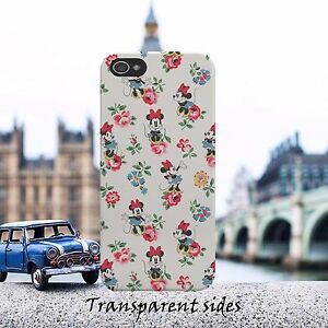 Disney-Minnie-Flower-Pattern-Phone-Case-Cover-For-iPhone-Samsung-Huawei-models