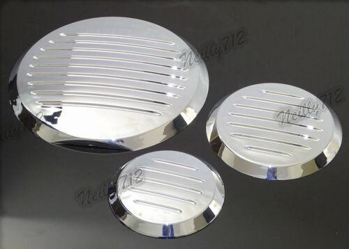 ABS Plastic Engine Cover Insert Kit Chrome For HONDA Fury VT13 VT1300 CX CXA