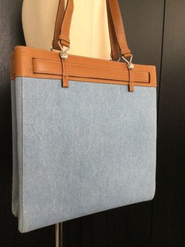 Schoudertas lederen Dior Authenticiteitskaarten Denim Christian Bnib shopper tas qTYxBZw