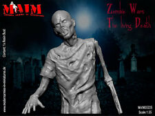 Zombie Bust / Half figure #1 /1:35 scale resin model kit