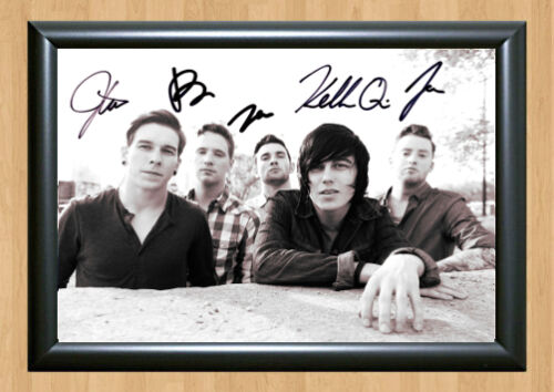 Kellin Quinn Sleeping With Sirens Signed Autographed Music A4 Print Poster Photo