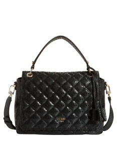 75a01e48a2 Image is loading NEW-Guess-SG685518BLA-Seraphina-Top-Handle-Shoulder-Bag-