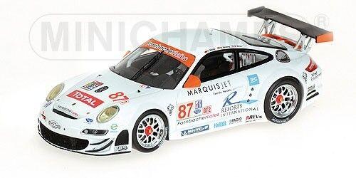 Porsche 911 Gt3-rsr 12h Sebring 2008 Werner Miller 1 43 Model MINICHAMPS