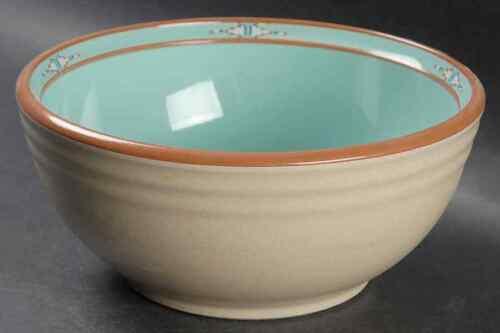 """Noritake BOULDER RIDGE 7 3//4/"""" Round Vegetable Bowl 421118"""