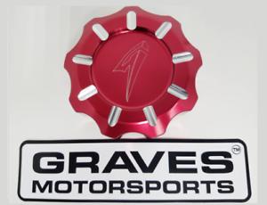 Graves-Motorsports-Red-Billet-Gas-Fuel-Cap-for-Kawasaki-KRX1000-KRX-1000