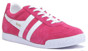 Womens 3 8 Scarpe scamosciata Classics in Gola Size Harrier Fuchsia pelle ginnastica da Leather Uk wFqO6