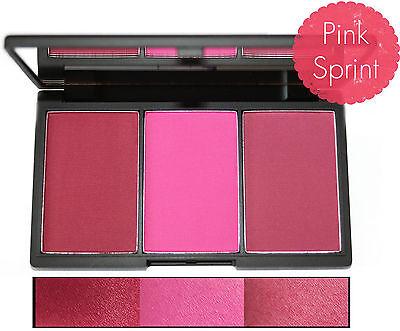 Sleek MakeUp Blush By 3 Palette Blusher Palette Trio Set Face Cheek Powder