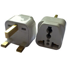 Worldwide Universal Japan EU USA AU NZ to UK Travel Plug Adapter Adaptor