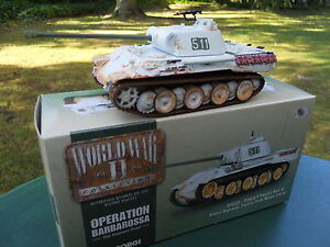 Corgi Militaire Ref Cc 60203 Char Panther A Front De L'est 1943 Mint In Box