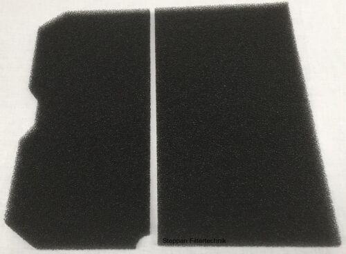 1 x Set Schwammfilter für Elektra Bregenz TKF 1350 7340 3500 Filter Blomberg   X