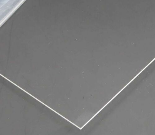 1mm A5 transparent Perspex acrylic sheet Plastic Plexiglass Cut 150mm*200mm