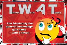 TWAT Game - Trivia With A Twist - Funny adult trivia quiz game - Secret Santa
