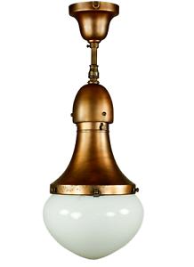 Kandem-Decken-Leuchte-Stabpendel-Haenge-Lampe-Koerting-amp-Mathiesen-20er-30er