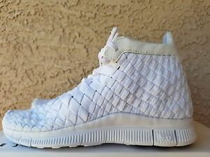 Nike Free Inneva Woven Mid SP White 800907 110 Men s Size 6 ... b2002e948cd9