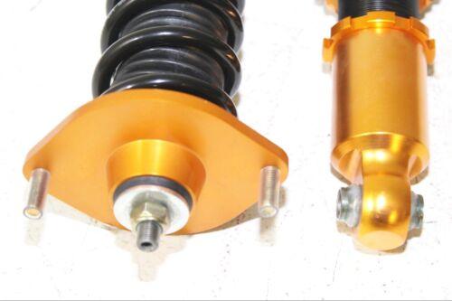 Coilover Suspension Lowering Kits FOR 90-97 Mazda Miata Base Convertible 2D