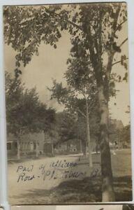 1910-era-Plattsburgh-New-York-NY-Officers-Row-Real-Photo-Postcard-RPPC