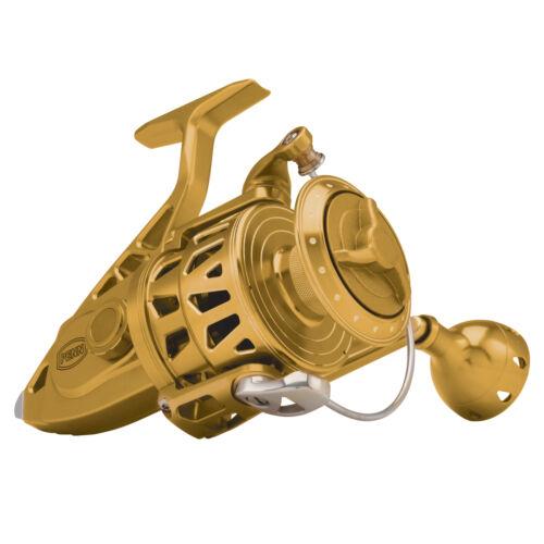 Free Shipping PENN Torque II 7500 Spinning Fishing Reel Gold