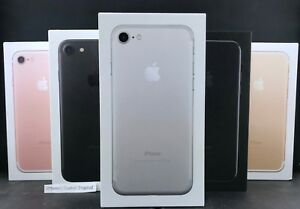 Details about Apple iPhone 7 32GB/128GB/256GB Unlocked AT&T Verizon Jet  Black Rose Gold Silver