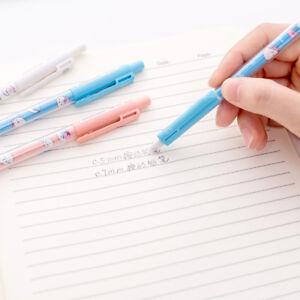 2pcs Cartoon Mechanical Pencil 0.5mm/0.7 Mm Lead Automatic Kawaii Pencil Hot