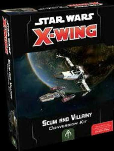 STAR WARS X-WING  SCUM AND VILLAINY CONVERSION KIT