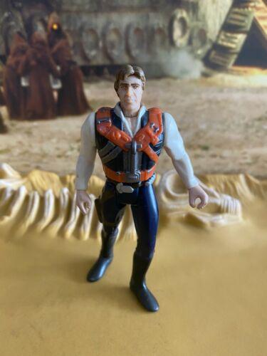STAR Wars POTF 2 Han Solo 1996 Action Figure Hasbro Kenner 157