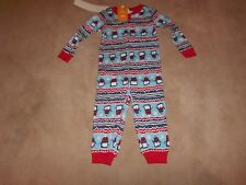 U PICK NWT 12-18M GYMBOREE BABY GIRLS WINTER HOLIDAY L//S PAJAMAS GYMMIES 2PC SET