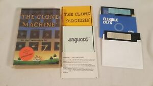 Details about C64 Commodore 64 The Clone Machine Clone Unguard Manual Disk  Tested Works!