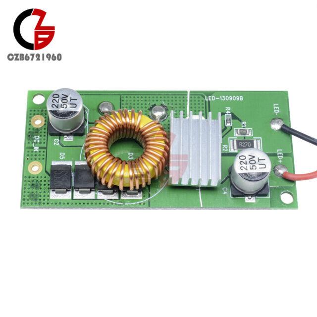 50W Constant Current LED Driver DC 12V-24V to DC 20-36V + LED Chips Light New