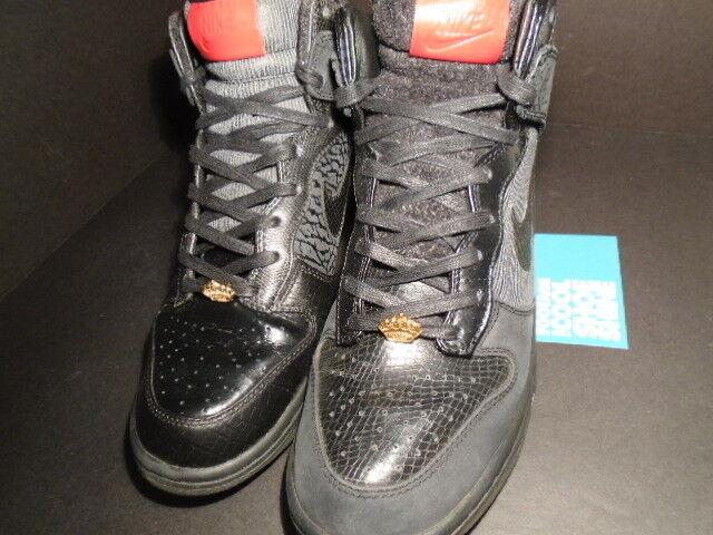Nike DUNK HI PREMIUM QS QS QS MIGHTY CROWN noir rouge CEMENT Gris WOOL 503766-001 11.5 3b9cb8