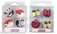 12 Culpitt Edible Childrens Party Cupcake, Muffin Cake Decorations Sugar Toppers