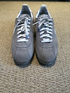 reputable site d7f47 90565 Details about Nike iD, limited edition, Cortez suede trainers. UK size 8