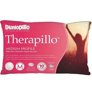 Dunlopillo-Therapillo-Medium-Profile-Memory-Foam-Pillow-RRP-179-95