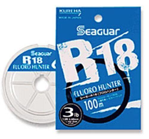 KUREHA SEAGUAR R18 FLUORO HUNTER 100m 3lb #0.8