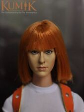 KUMIK 1/6  KM15-6 Milla Jovovich women Head Sculpt For Hot Toys or Kumik figure