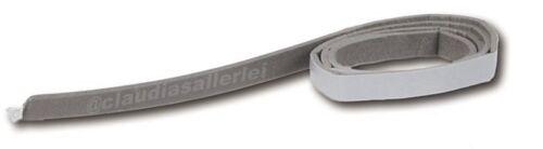 20 Meter Dichtband selbstklebend 9mm breit 2mm stark Preis für 20m am Stück