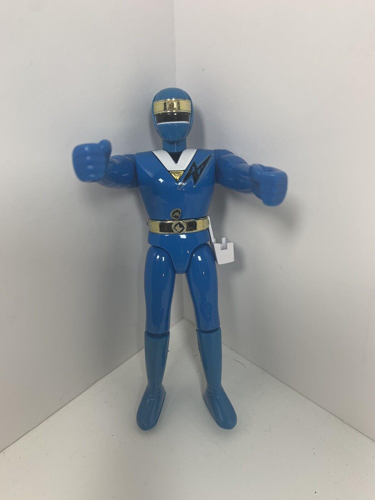 Bandai Mighty Morphin Power Rangers Ninja Samurai 1993 Japan azul Ranger Raro